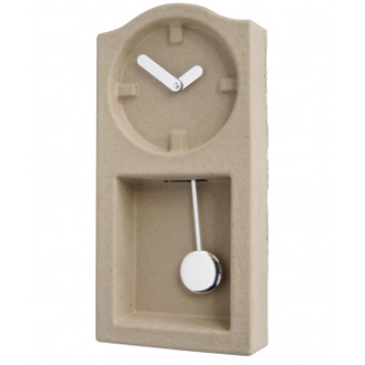 Invotis Orange Studio Paper Pulp Clock
