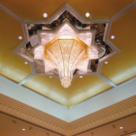 J.T. Kalmar Design Team Hirsch Bedner Associates Grand Hyatt Dubai Lamp