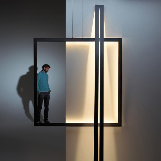 Jacco Maris and Ben Quaedvlieg Framed Lamp Collection