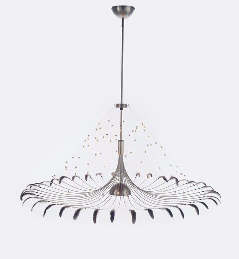 Jan Pauwels Bird Lamp