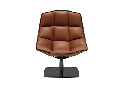 Jehs+Laub JL Lounge Chair and Ottoman