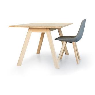 Johannes Foersom, Peter Hiort-Lorenzen Eyes Wood Table EJ 2T