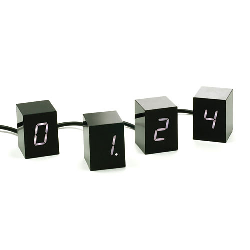 Jonas Damon Numbers LED Clock