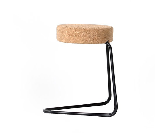 Joop Couwenberg CC1, CC2, CC3 Cantilever Stool