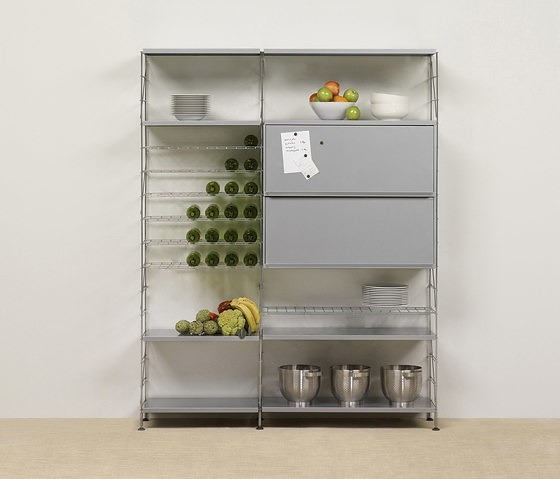 JM Massana and JM Tremoleda Tria 36 Shelving System
