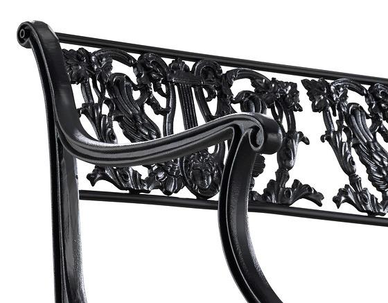 Karl Friedrich Schinkel D60 Garden Bench