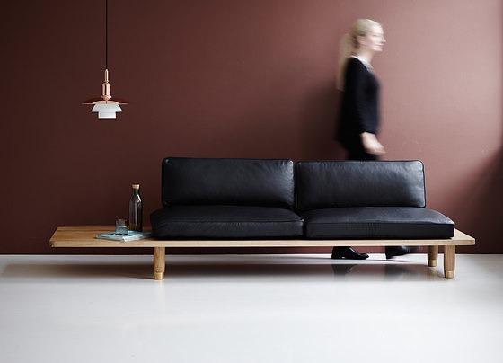 Knudsen Berg Hindenes and Myhr Plank Sofa