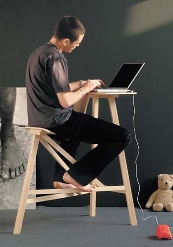 konstantin grcic allievo stool. Black Bedroom Furniture Sets. Home Design Ideas