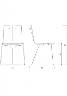 Konstantin Grcic Venus Upholstered Chair