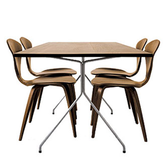 Norman Cherner Konwiser Dining Table
