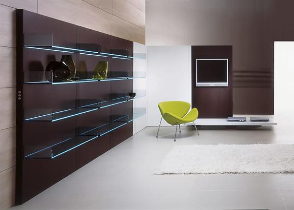 Paolo Lomazzi and Donato DUrbino Lighterie Bookcase