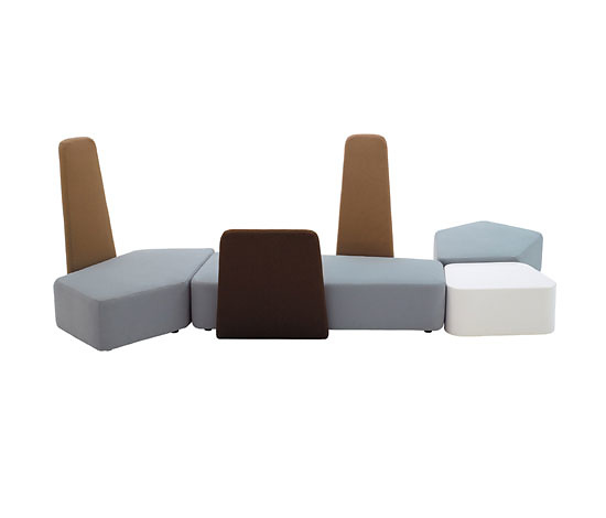 Luca Nichetto Ben Grimm Modular Lounge Seating System