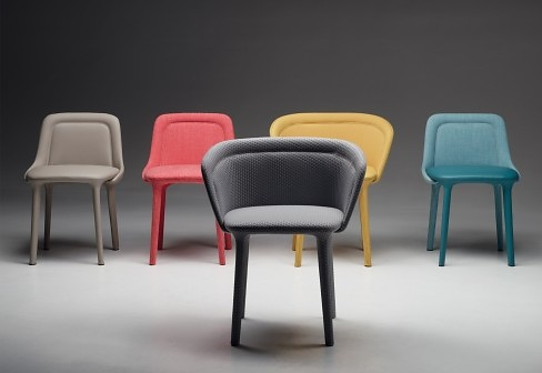 Luca Nichetto Lepel Chair With Armrests