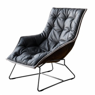 Ludovica and Roberto Palomba Maserati Lounge Chair