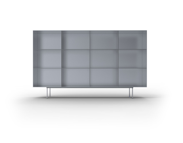 maarten van severen kl95 cupboard. Black Bedroom Furniture Sets. Home Design Ideas