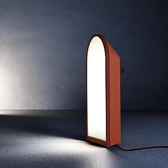 Marco Maturo and Alessio Roscini Odeon Floor Lamp