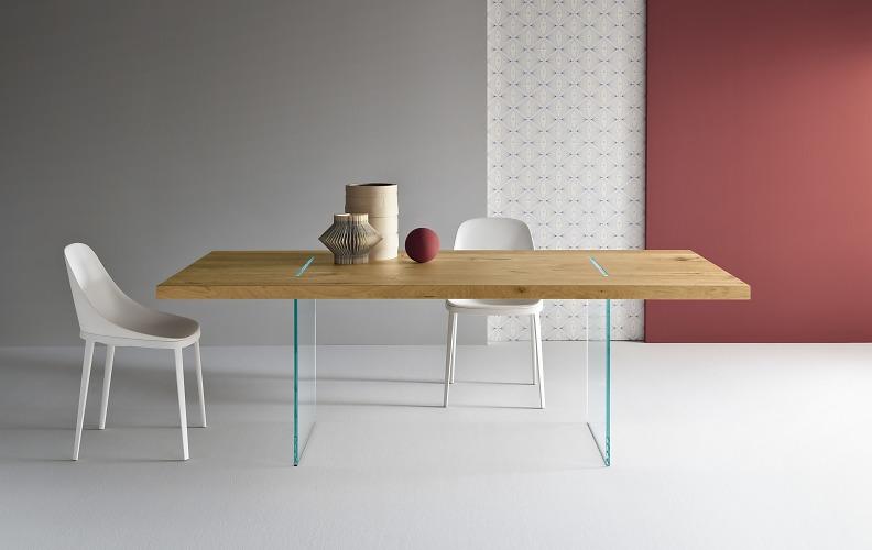 Marco Gaudenzi Tavolante Aged Oak Table