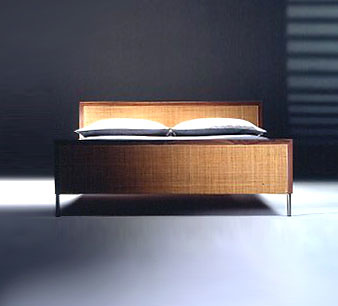 Mario Asnago and Claudio Vender Piano Bed