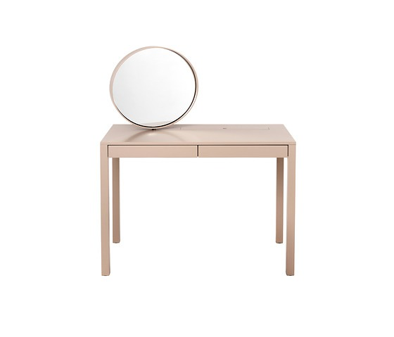 Martha Schwindling Sphere Make-Up Table With Stool