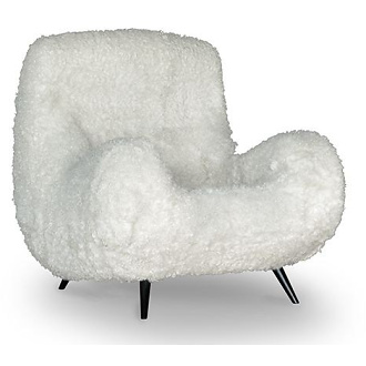 Massimiliano Fuksas and Doriana Fuksas Molly Armchair