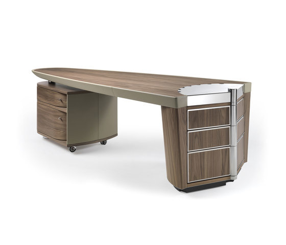 Massimo scolari ark desk for Ausziehbare couch