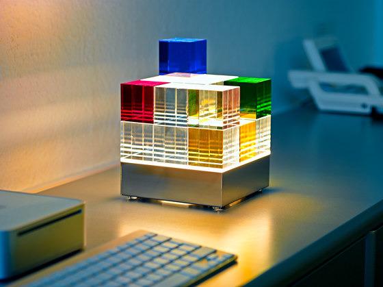 Mathias Schifferdecker Cubelight Mscl1 Table Lamp