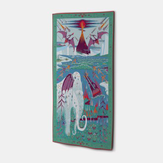 Mia Wallenius and Klaus Haapaniemi Mammoth Tapestry