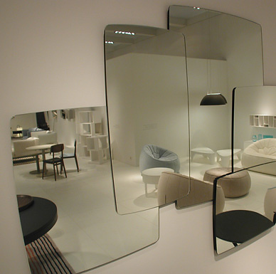Michael Koenig Biscuit Mirror