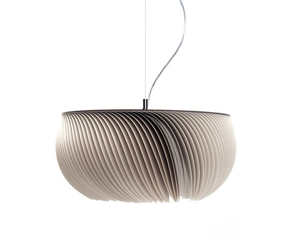 Michael Römer and Anja Eder Moonjelly Grey Pendant Lamp