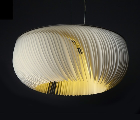 Michael Römer and Anja Eder Moonjelly White Pendant Lamp