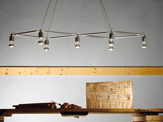 Michele De Lucchi and Alberto Nason Pergola Lamp