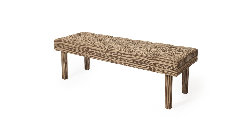 Minale Maeda Soft Wood Bench