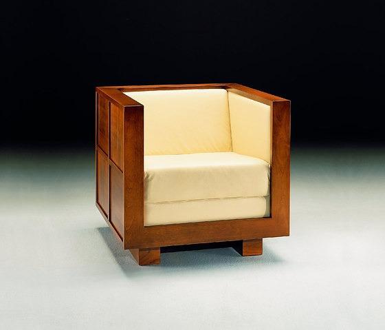 Morelato Poltrona 900 Scacchi Chair