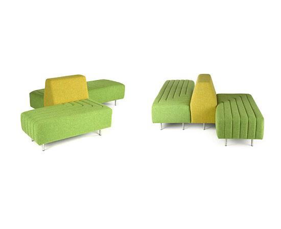 Naughtone Track Modular Sofa