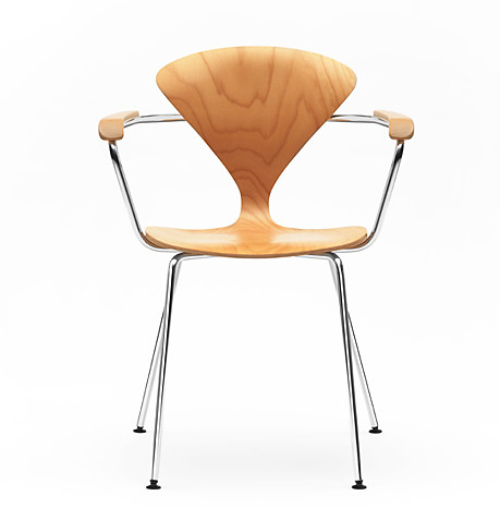 Norman Cherner Metal Base Chair