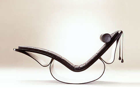 Oscar Niemeyer Rio Chaise Longue