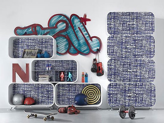 Paola Navone Cocoon Shelving