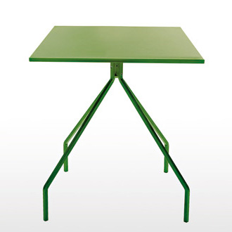 Paolo Rizzato Green Table and Shelf