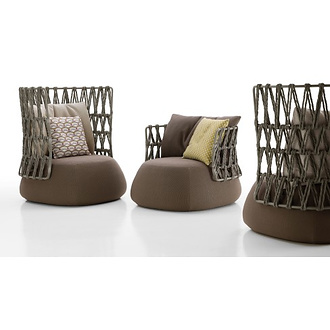 Patricia Urquiola Fat Sofa Outdoor Armchair