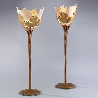 Patrick Blanchard Acanthus Table Lamp
