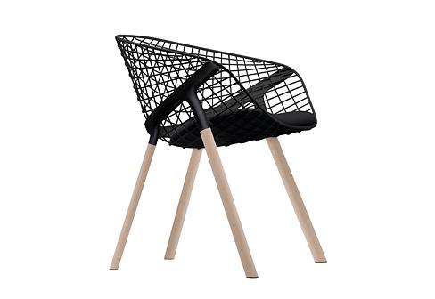 Patrick Norguet Kobi Wood Chair