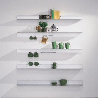 Pete Sans Phantasma Shelving System
