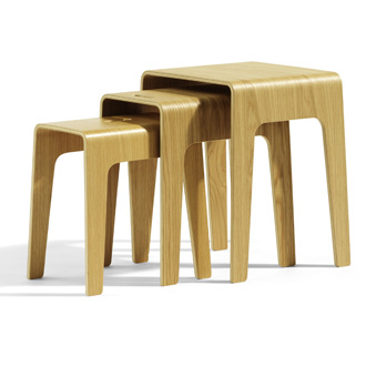 Peter Brandt Bimbed Table - Stool