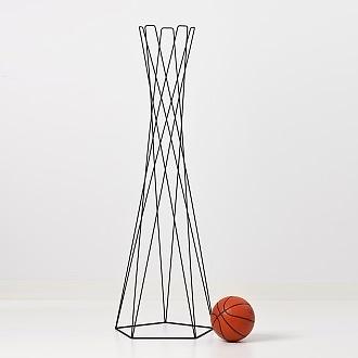 Peter van de Water Basket Coat Stand