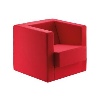 Peter Keler D1 Bauhaus Cube Armchair