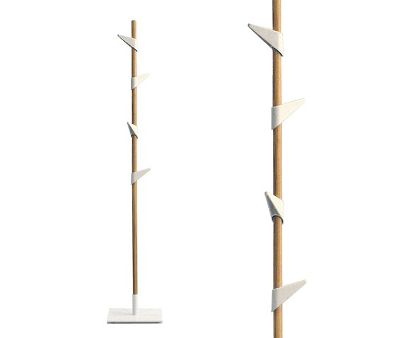 Peter Van De Water Bamboo Coat Rack