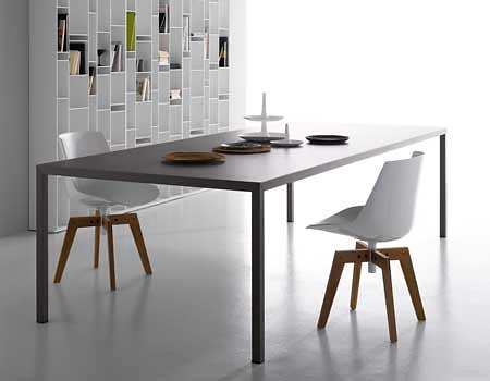 Piergiorgio Cazzaniga and Michele Cazzaniga Steel Table