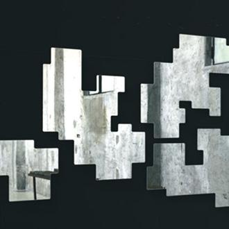 Piero Lissoni Space Invaders Mirrors