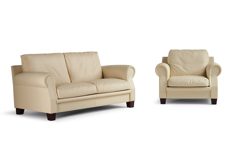 Poltrona Frau Austen Sofa and Armchair