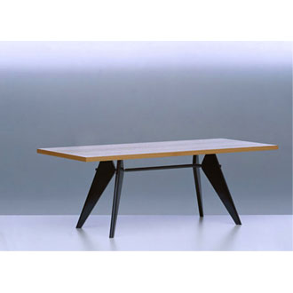 jean prouv em table. Black Bedroom Furniture Sets. Home Design Ideas